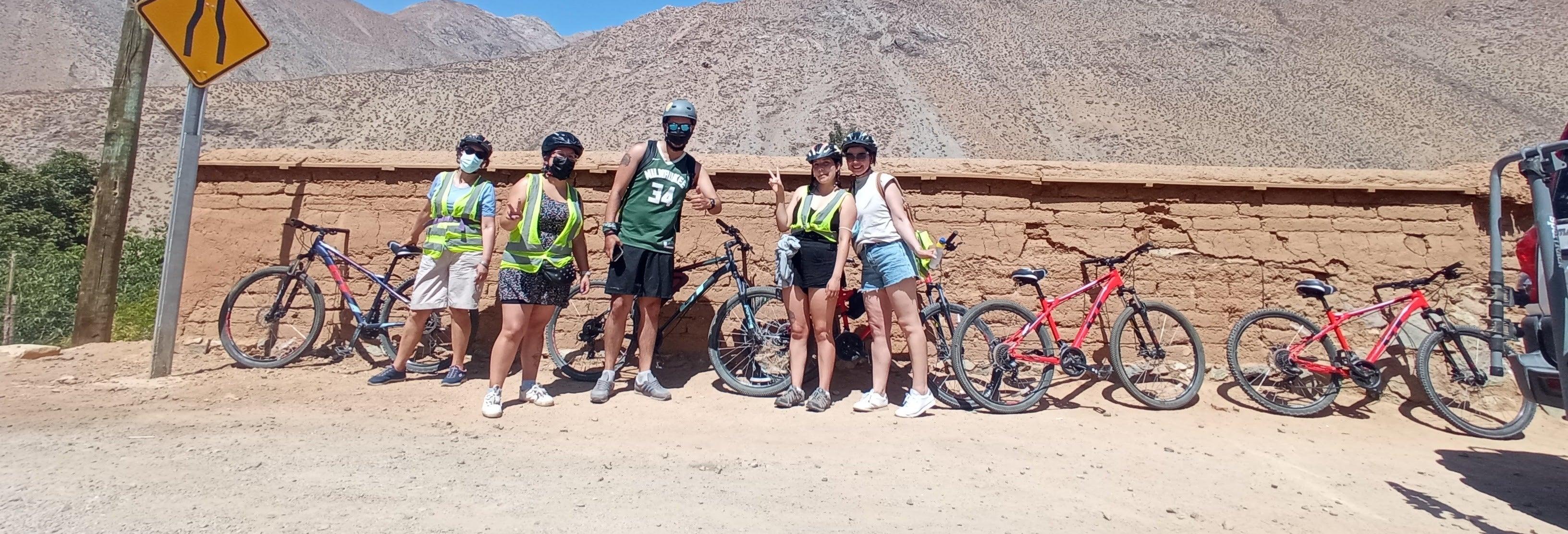 Ruta en bicicleta por el valle del Elqui