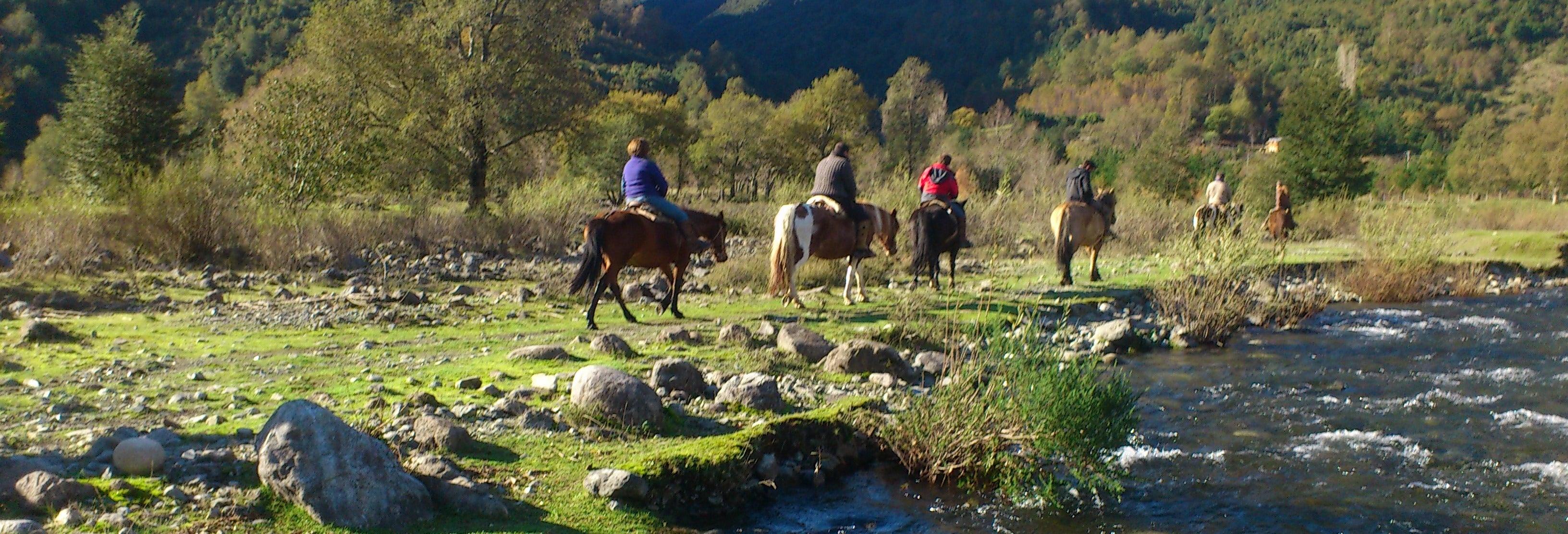 Tour de 2 dias a cavalo pela Reserva Nacional de Villarrica