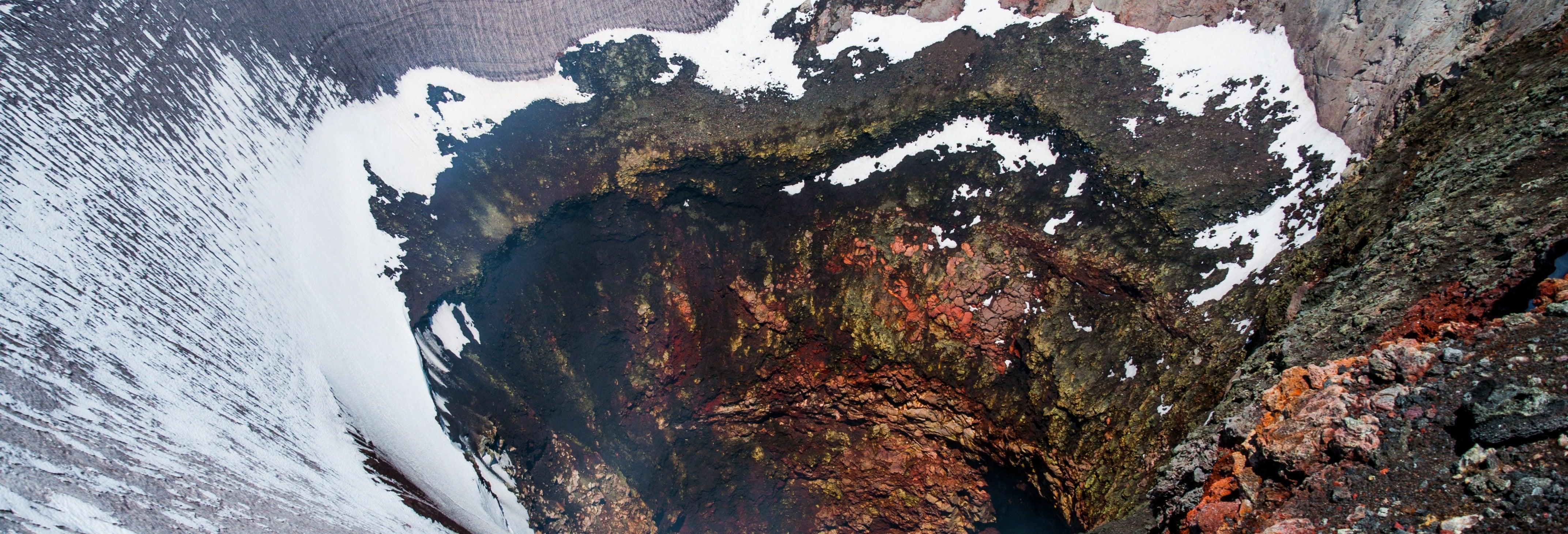 Passeio de helicóptero por Pucón e vulcão Villarrica