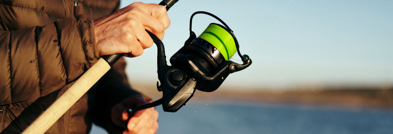 Pesca en el lago Bertrand