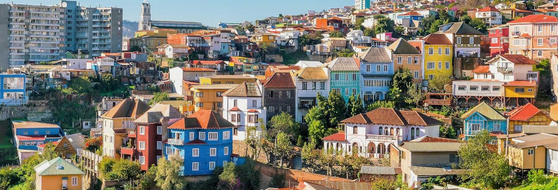 Excursion à Valparaíso + Vallée de Casablanca pour croisiéristes