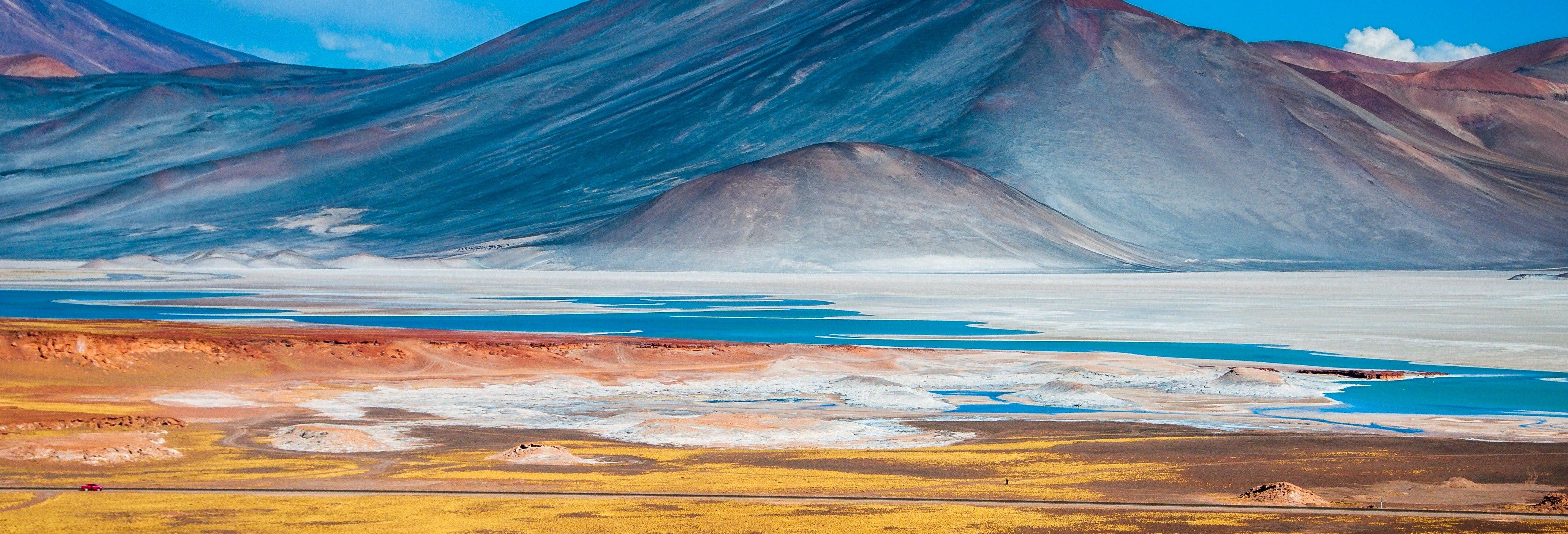 Piedras Rojas, Salar de Atacama y lagos del altiplano