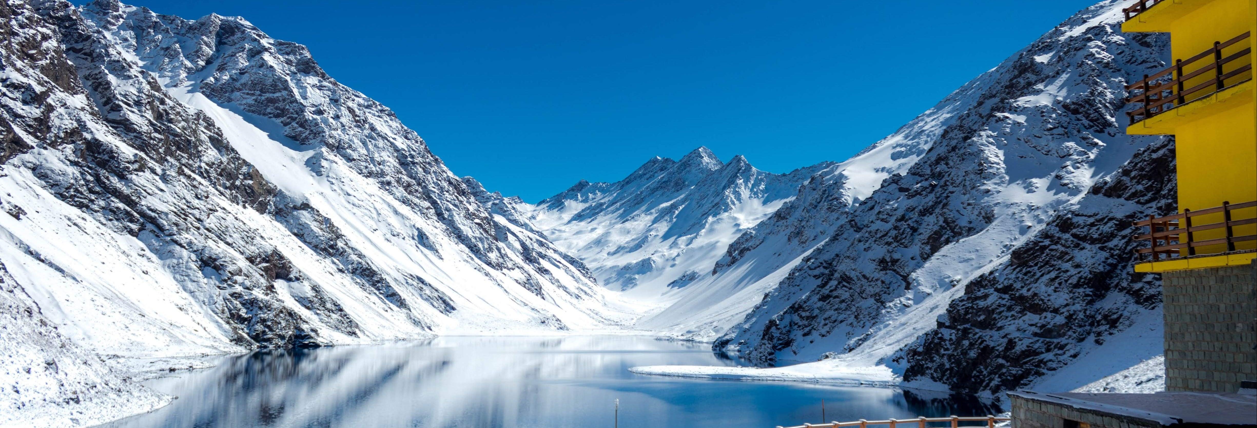 Estação de esqui Portillo, Laguna del Inca e Viña de San Esteban