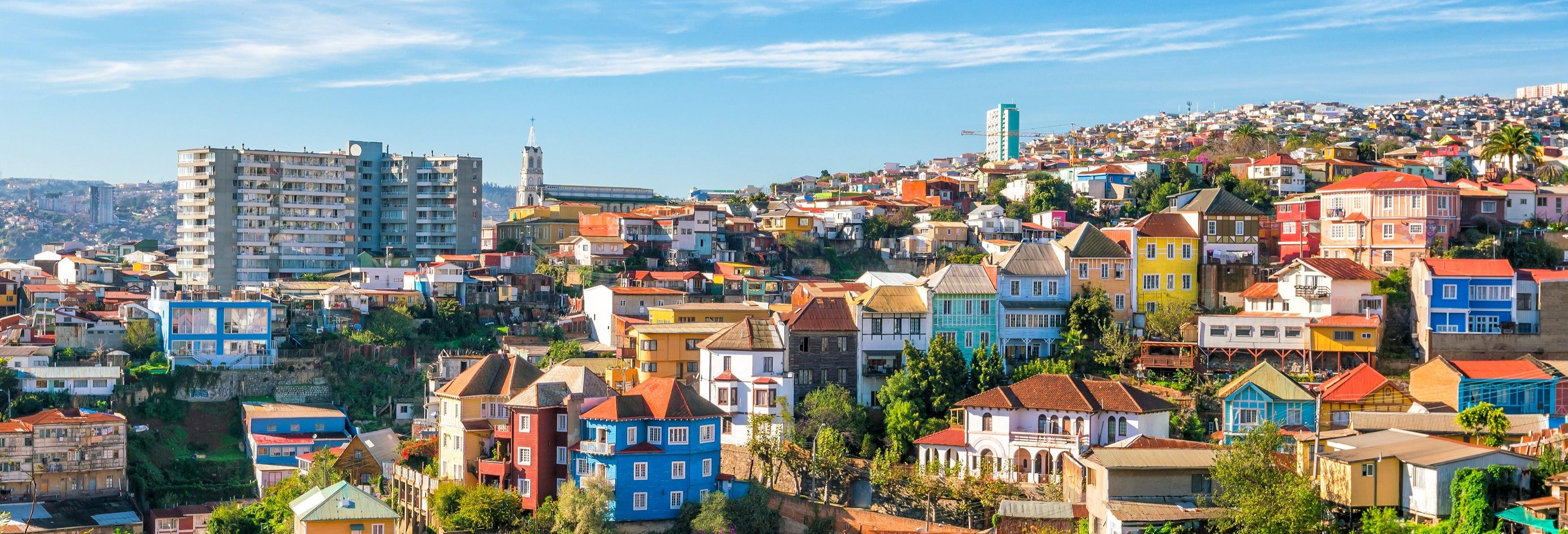 Excursão a Valparaíso e Viña del Mar