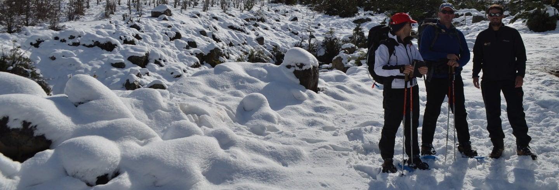 Snowshoe Trek through Cajon del Maipo