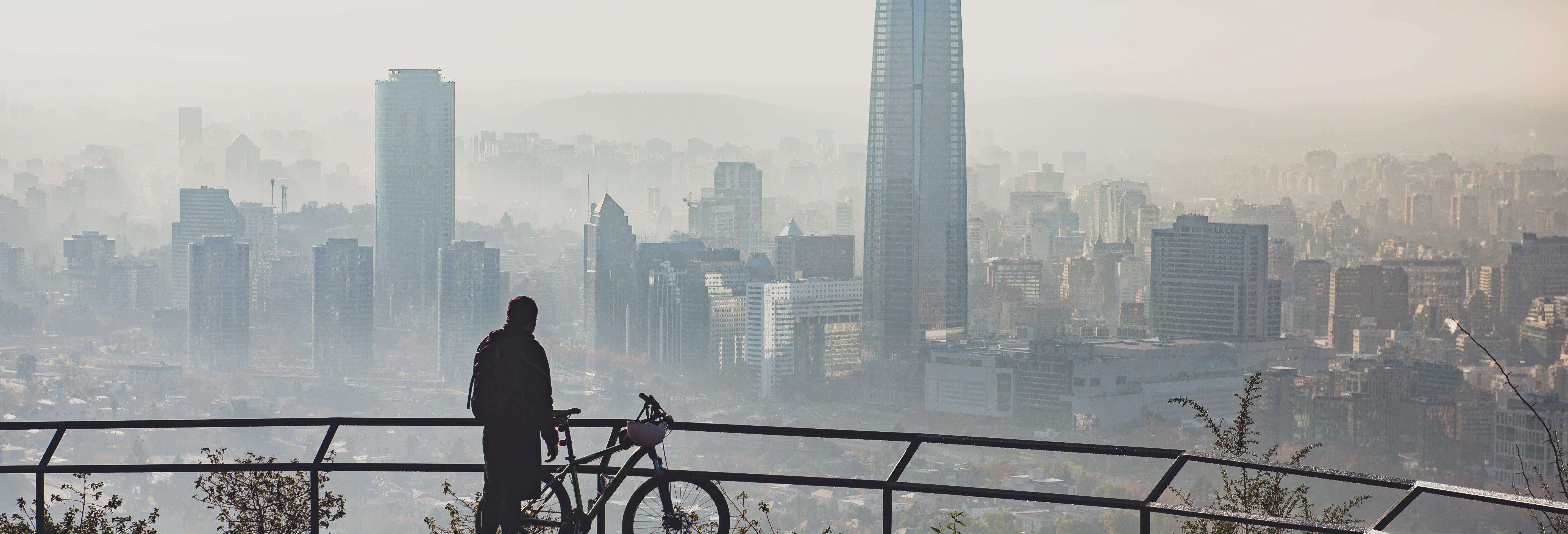 Tour de bicicleta por Santiago