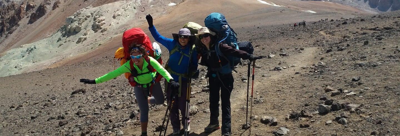 Ruta de trekking de 2 días por La Parva