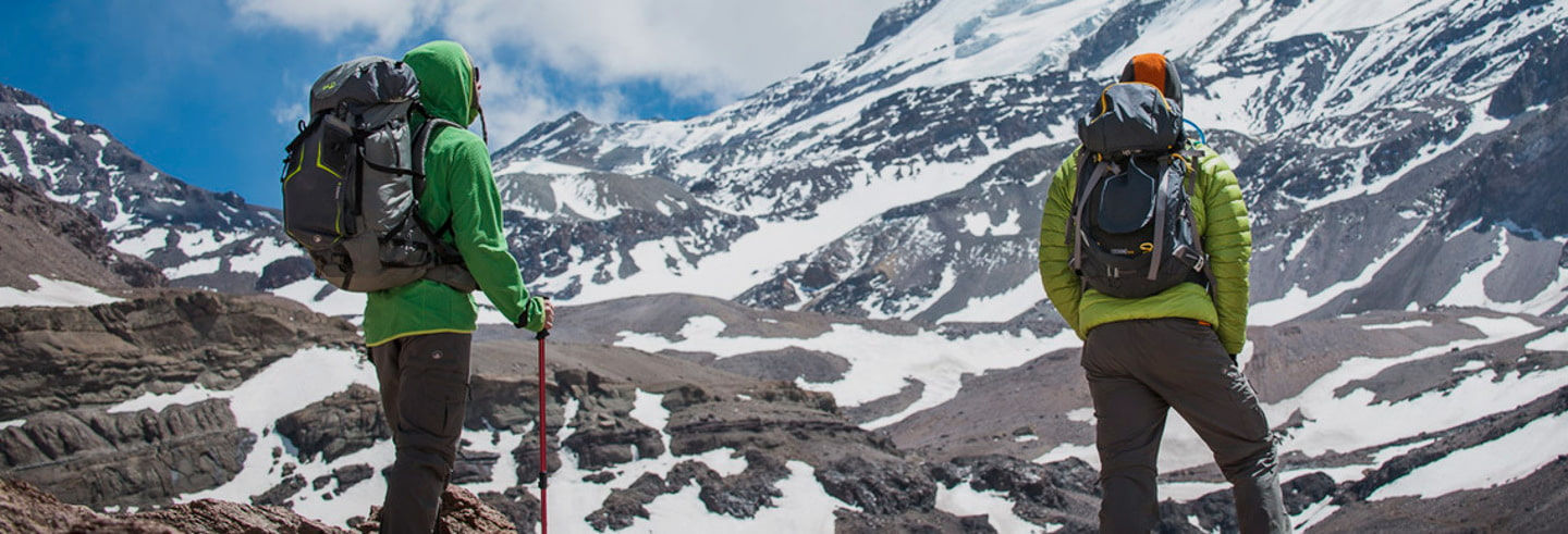 Ruta de trekking de 3 días por el Cerro El Plomo
