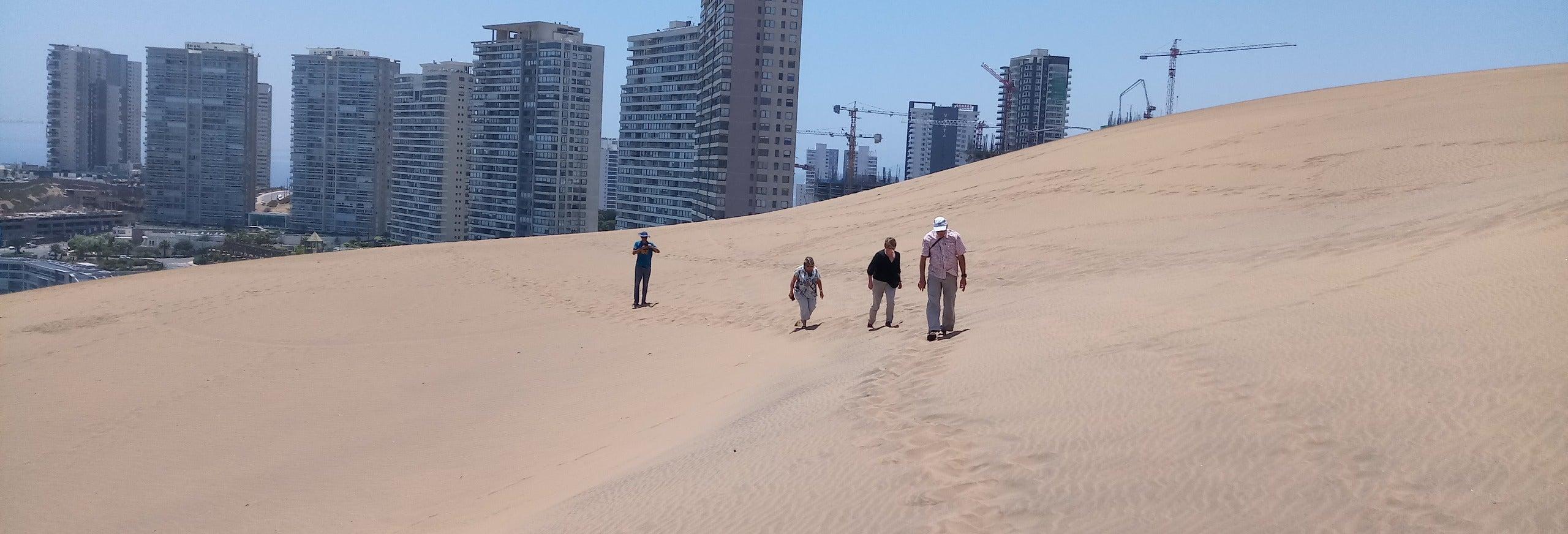 Curso de surf en Concón y senderismo por sus dunas