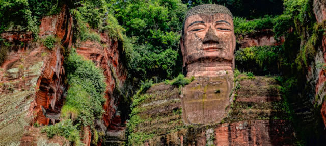 Gran Buda de Leshan + Reserva de pandas