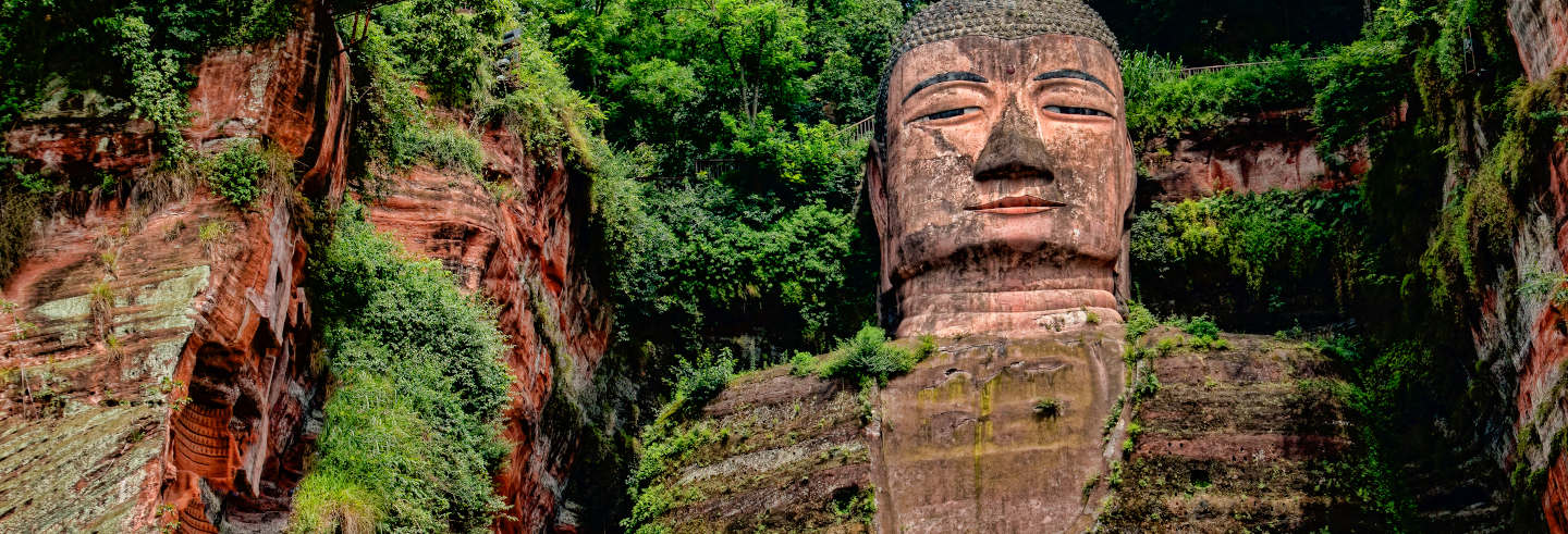 Grande Buda de Leshan + Reserva de pandas