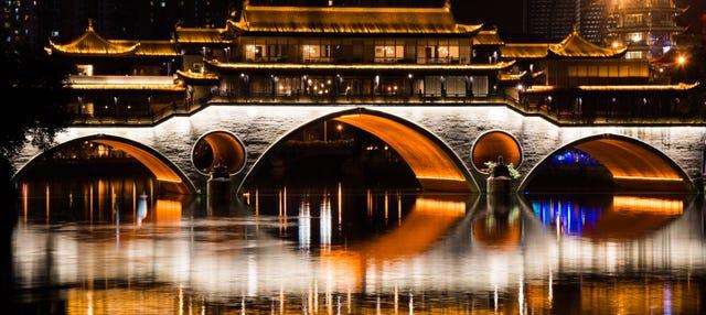 Tour nocturno por Chengdú