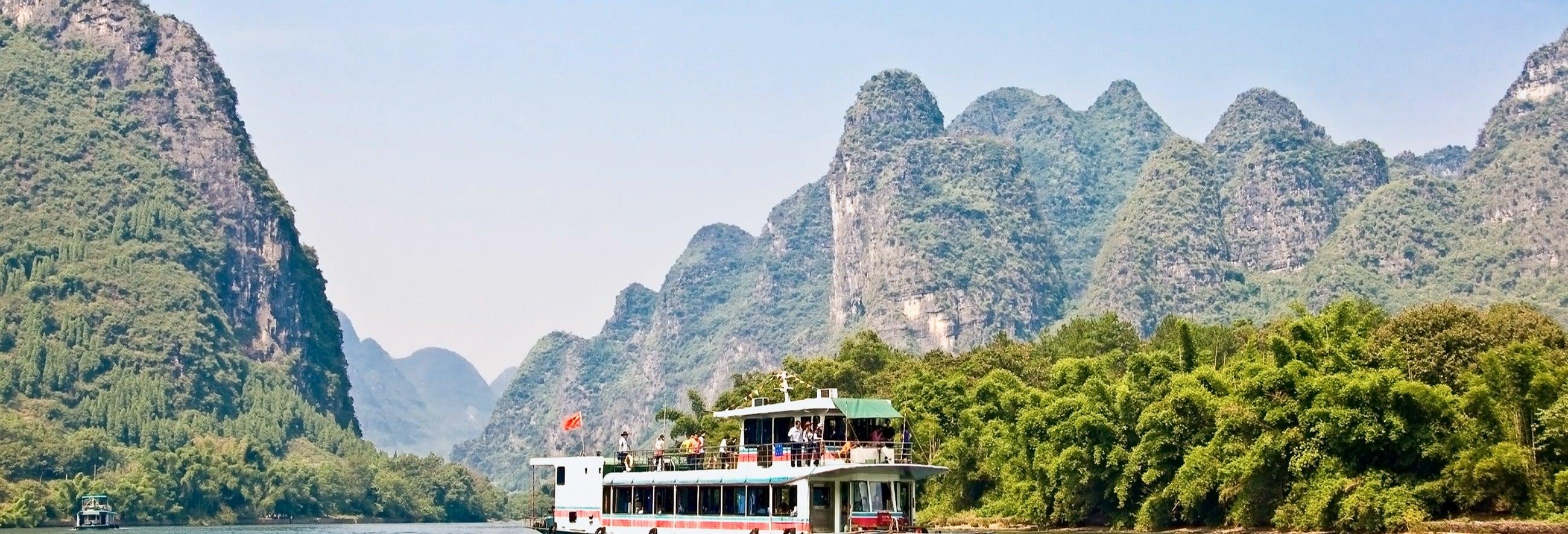 Cruzeiro até Yangshuo pelo rio Li