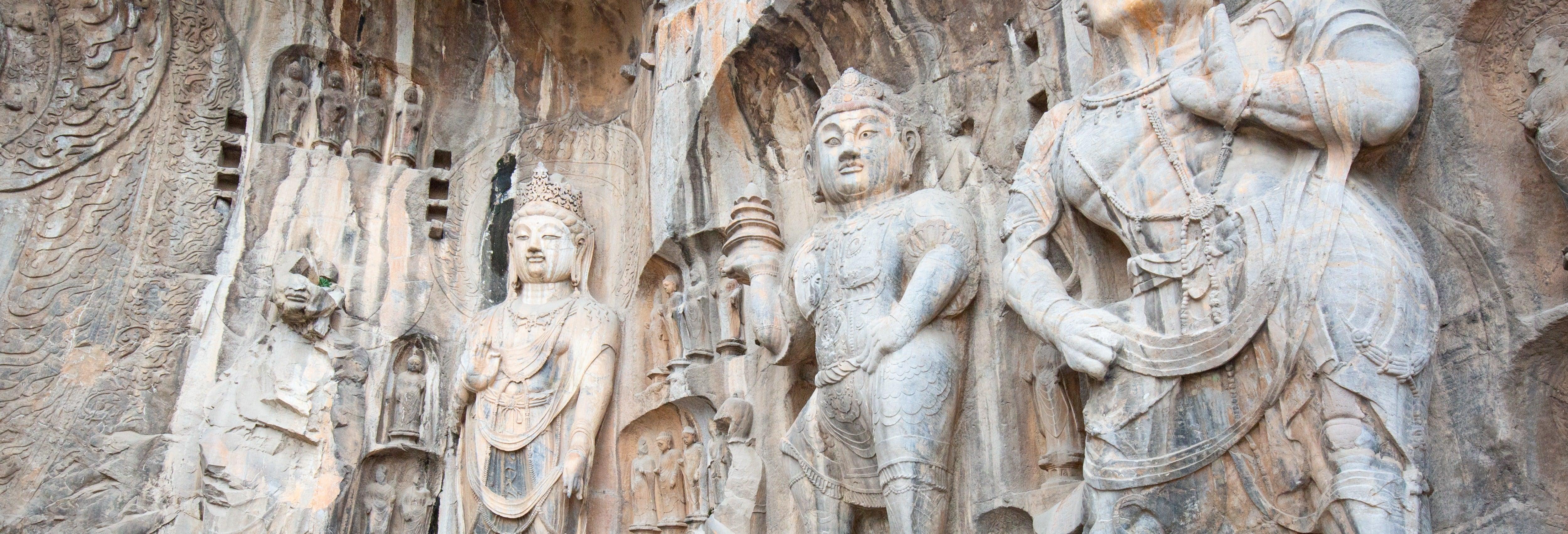 Excursión a las grutas de Longmen y al templo Shaolin