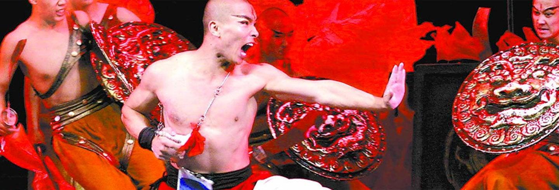 La Leggenda del Kung Fu, show nel Red Theater