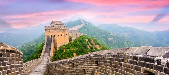 Trekking por la Muralla de Jinshanling