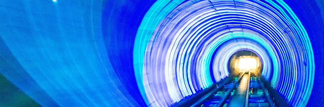 Tunnel touristique de Bund