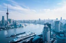 Paseo en barco por el río Huangpu