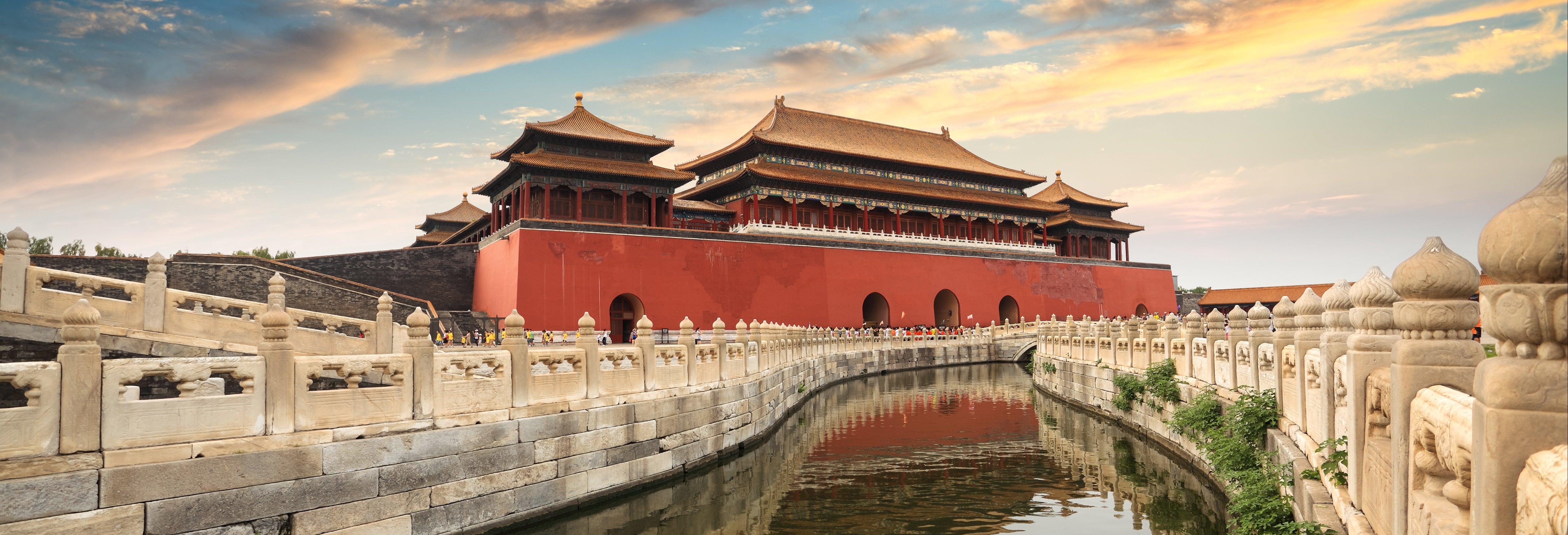 Ciudad Prohibida y Plaza de Tiananmen finalizando en Pekín