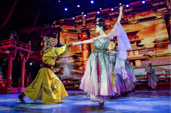 Traditional Tang Dynasty show