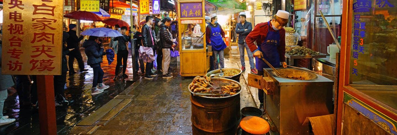 Visite gastronomique dans le quartier musulman