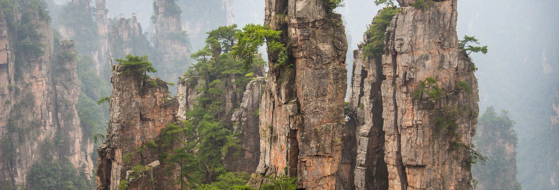 Excursão privada à montanha Tianzi + Ponte de Vidro