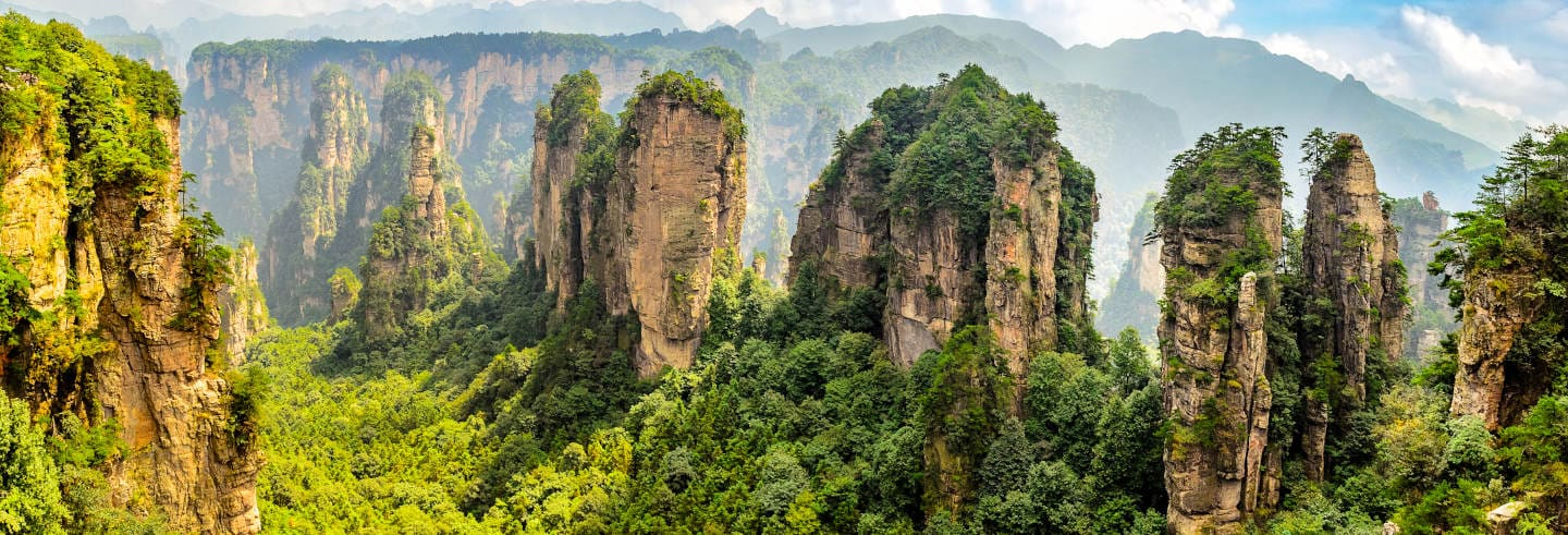 Excursion à la montagne Tianzi et Yuanjiajie