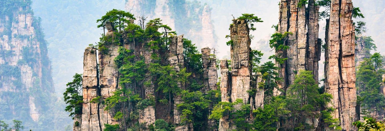 Tour privado por Zhangjiajie