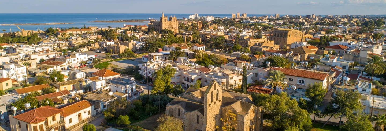 Excursão a Salamina e Famagusta