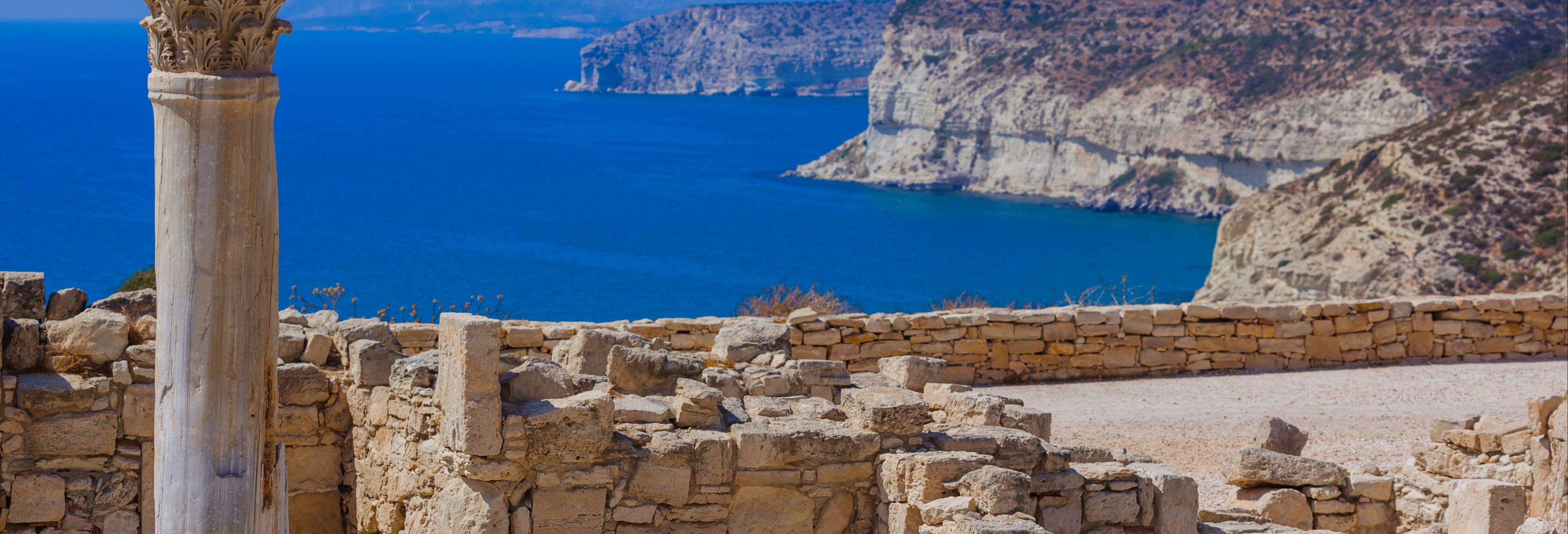 Excursão a Kourion, Omodos e Koilani + Castelo de Kolossi