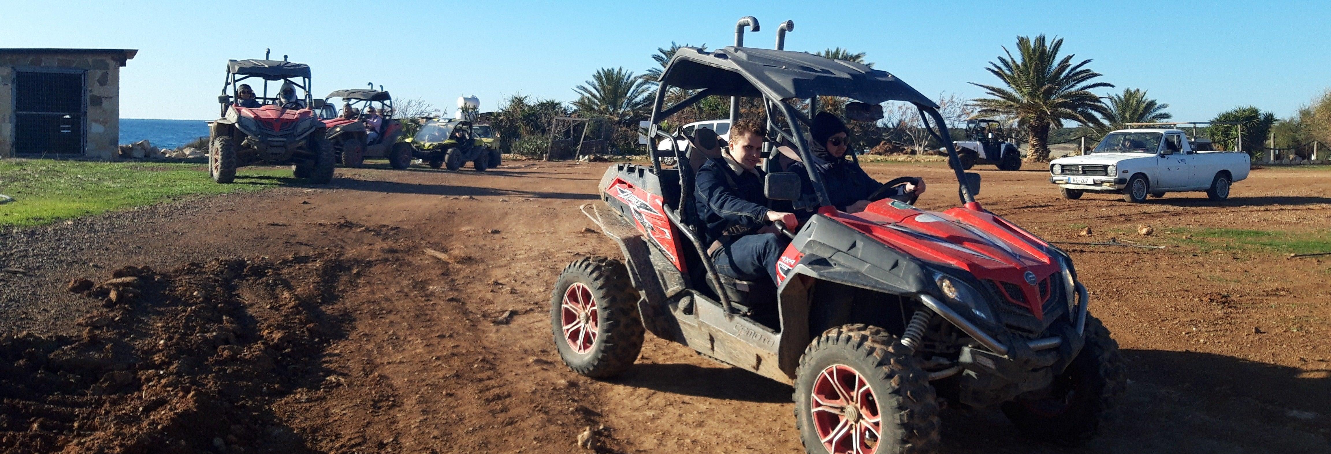 Tour en buggy por el Parque Nacional de Akamas