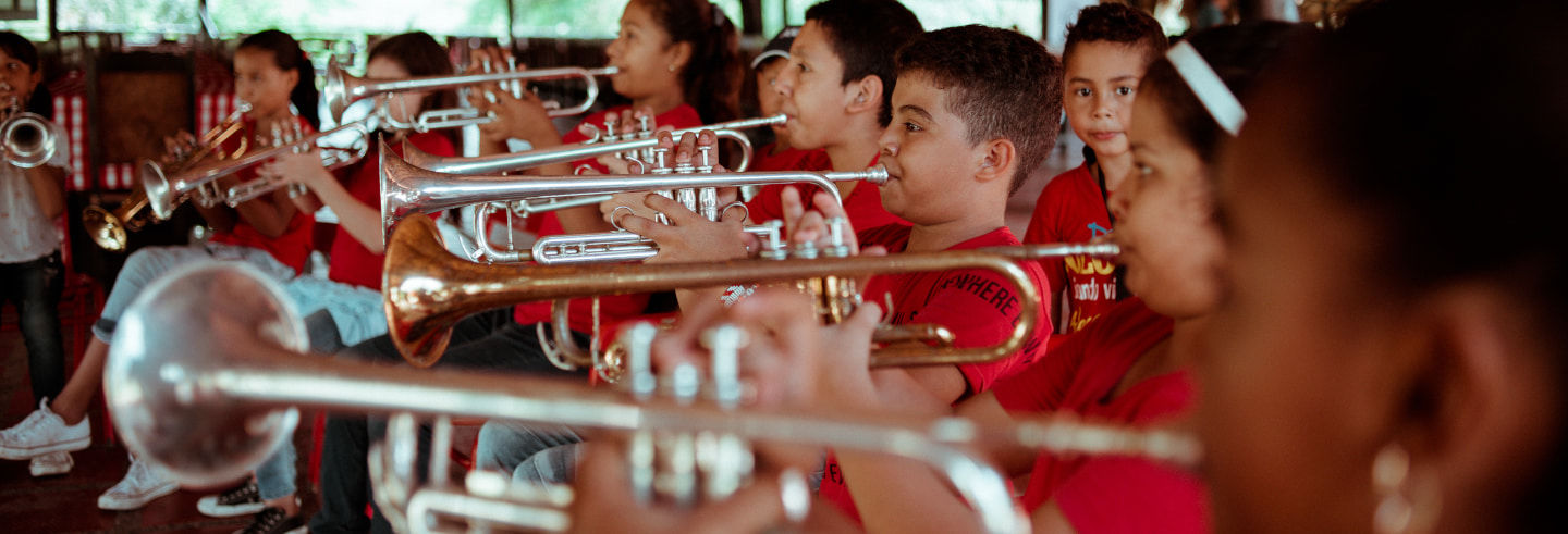 Clase de música con la Banda Baranoa