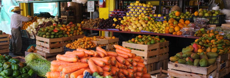 Tour por el mercado La Magola + Clase de cocina colombiana