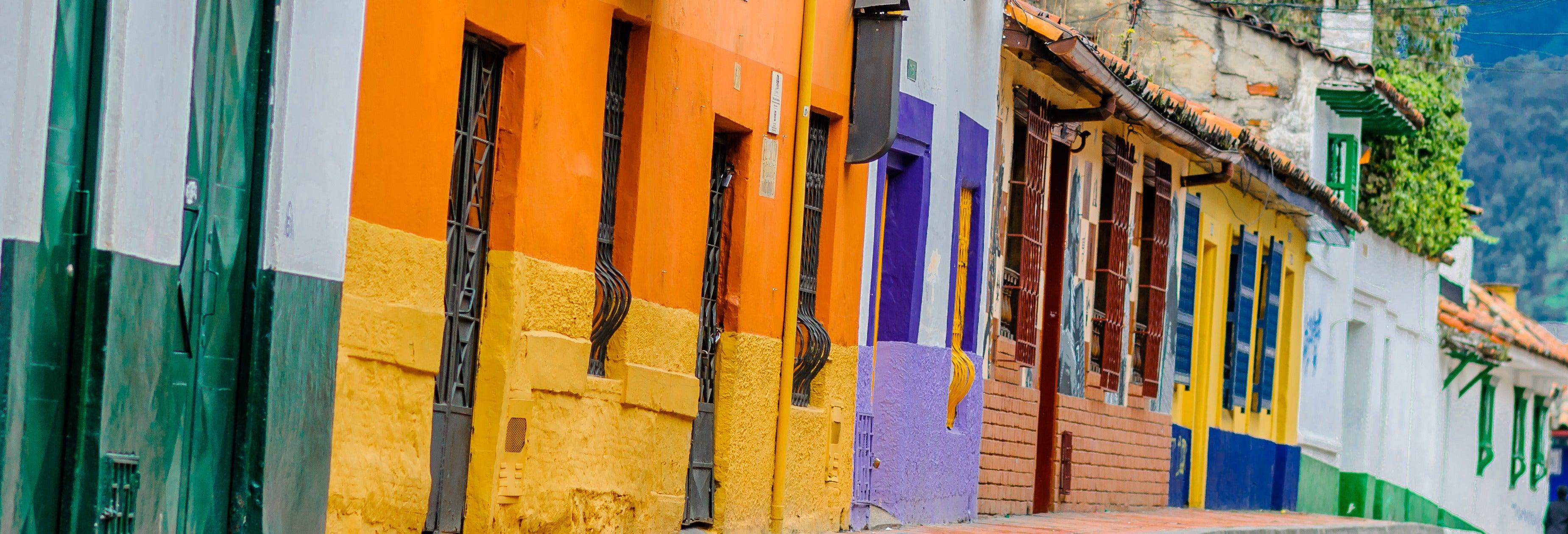 Free tour de contrastes de Bogotá