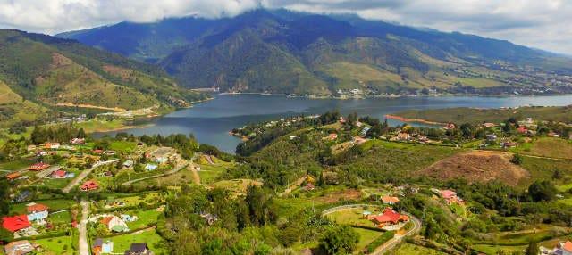 Excursão ao lago Calima