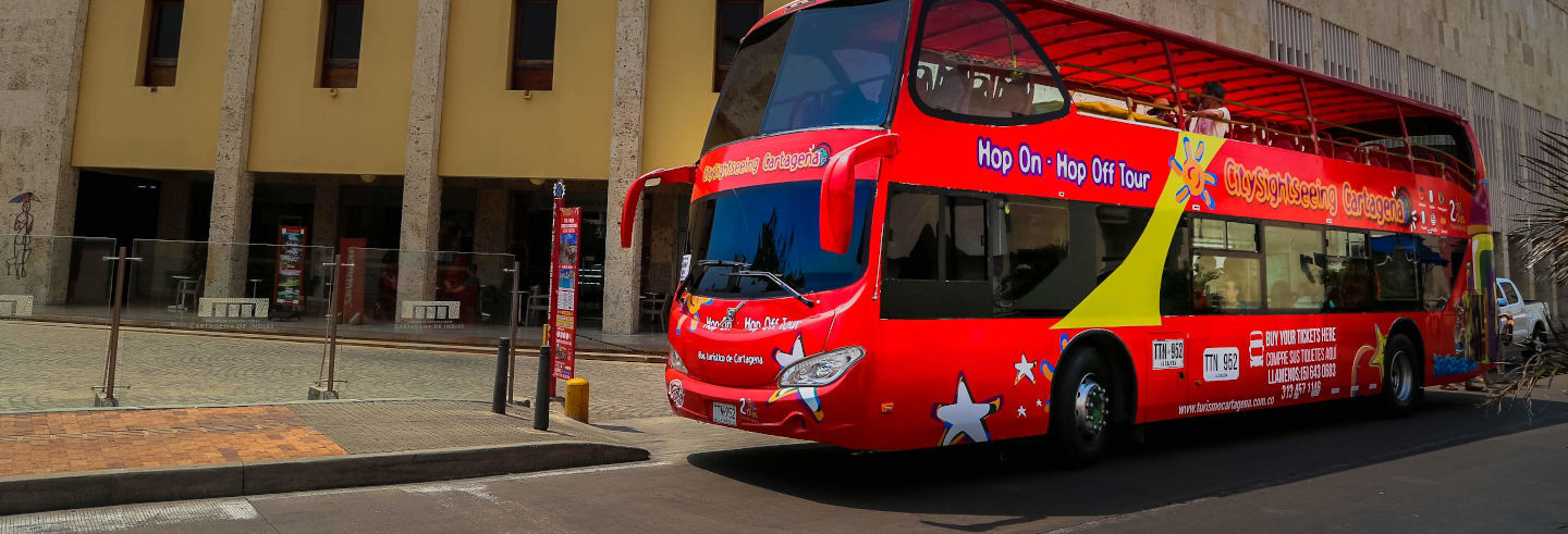 Ônibus turístico de Cartagena