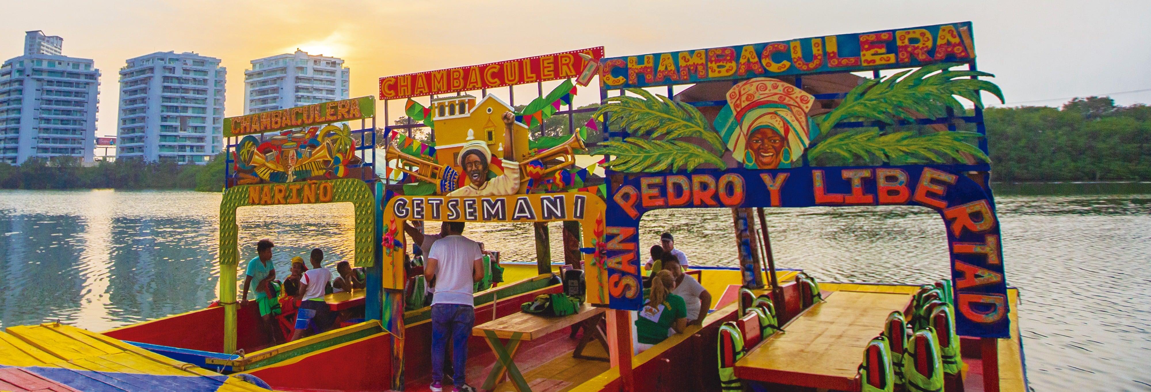Giro privato in chambaculera a Cartagena