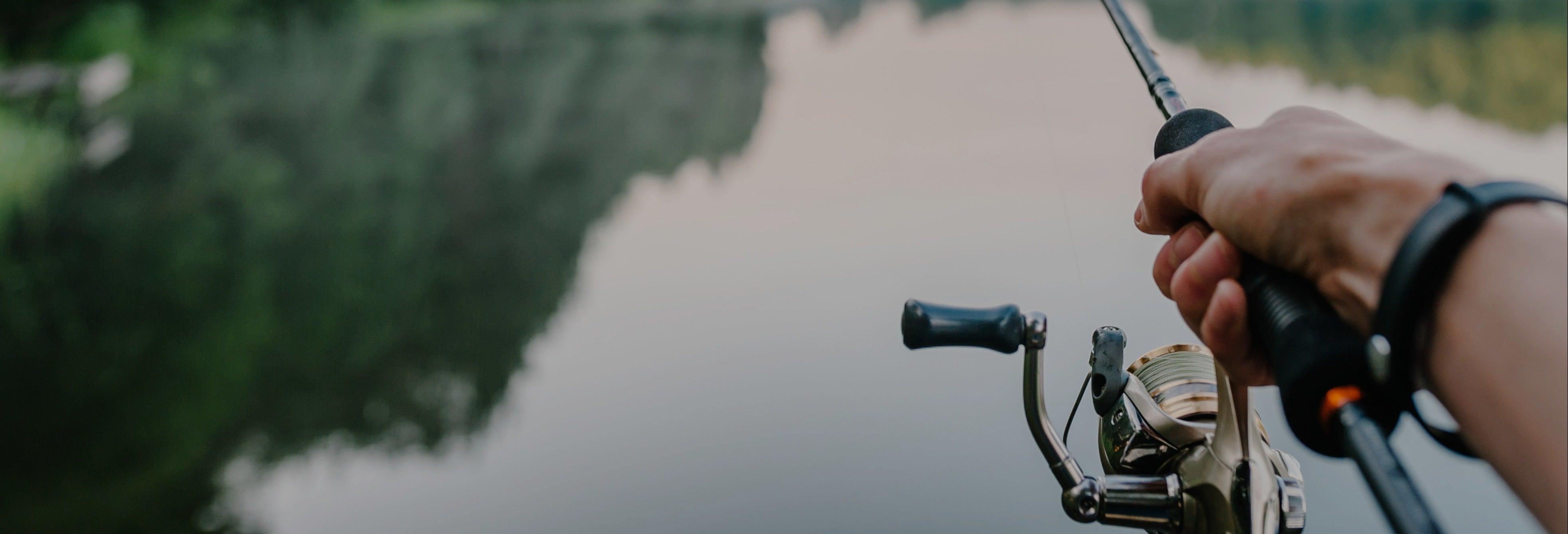 Pesca en el embalse de Guatapé