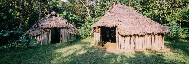 Excursión a una maloca del Amazonas