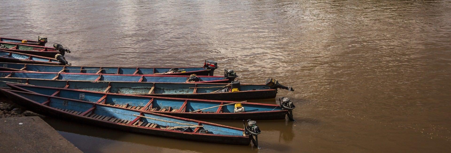 Kayak + Rápel y tirolina en Leticia
