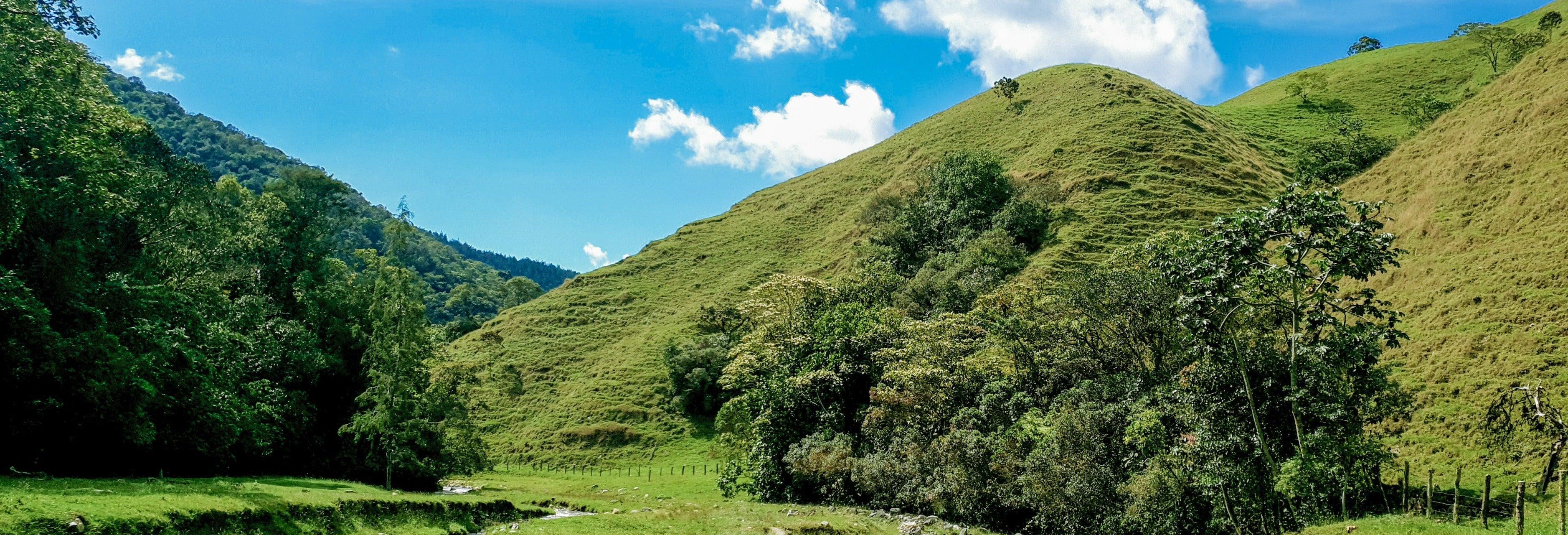 Balade à cheval dans les montagnes de Caldas