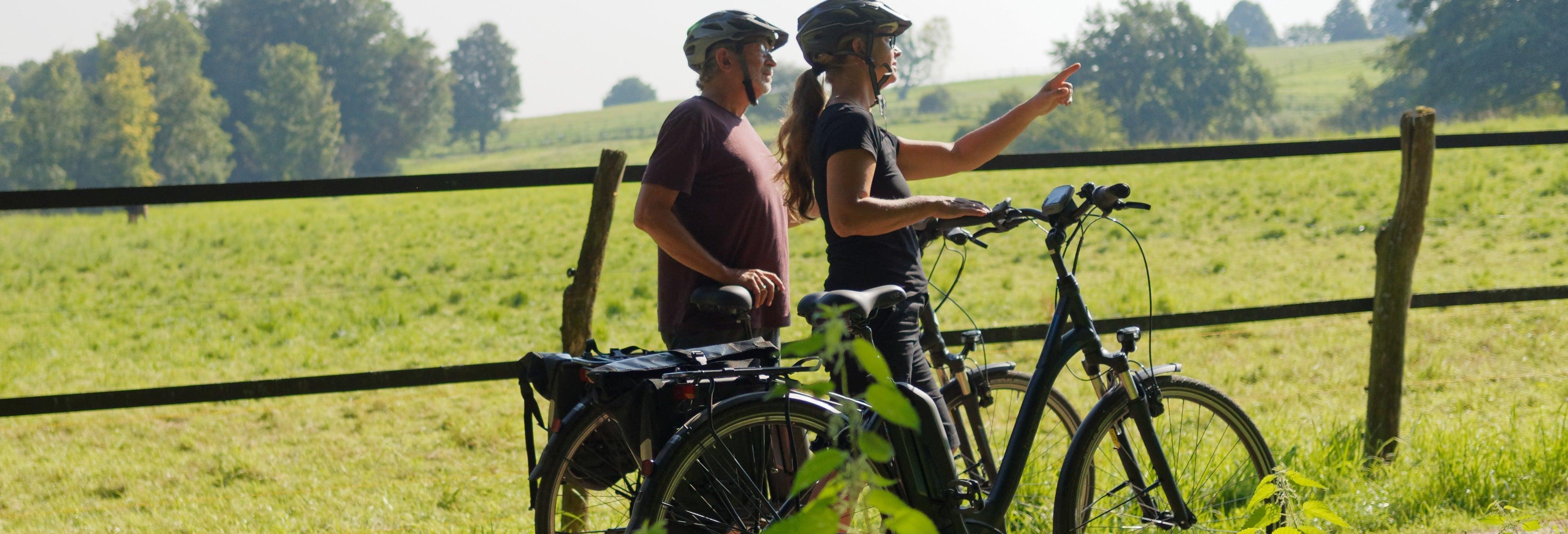 Visite dans Santa Elena à vélo électrique