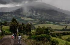 Excursión de 2 días a una comunidad del volcán Galeras
