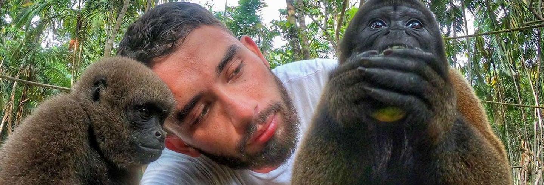 Excursión al santuario de monos de Mocagua