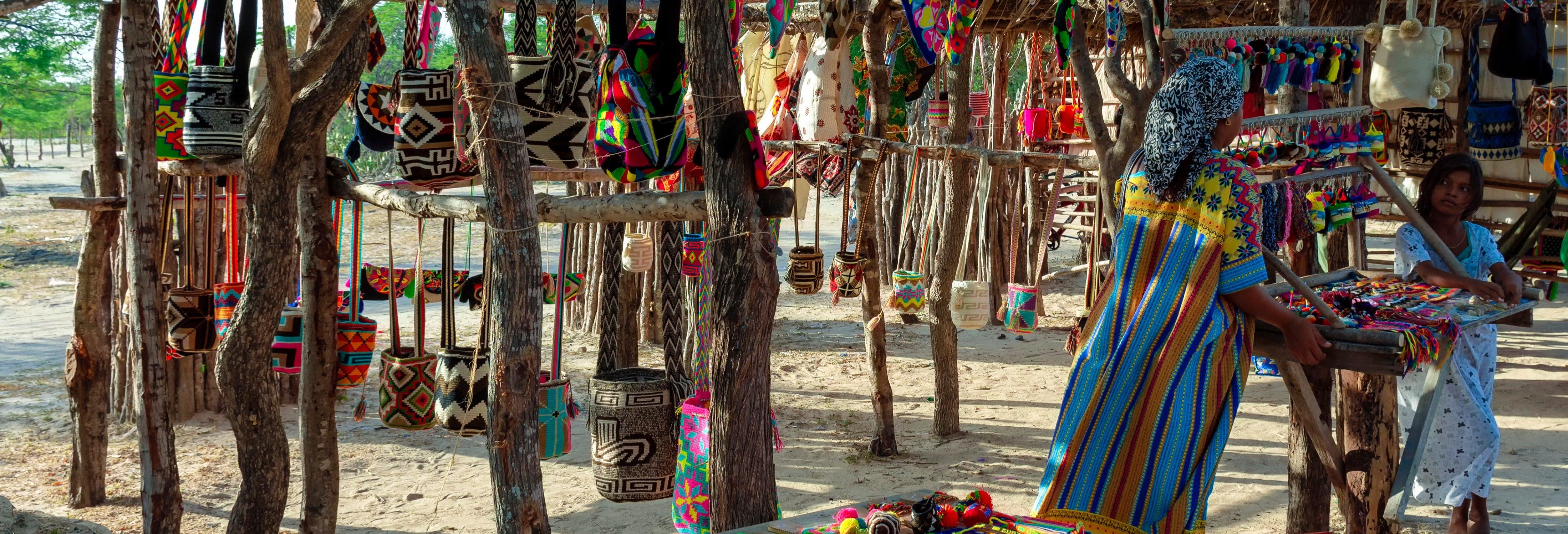 Visita a una ranchería wayúu