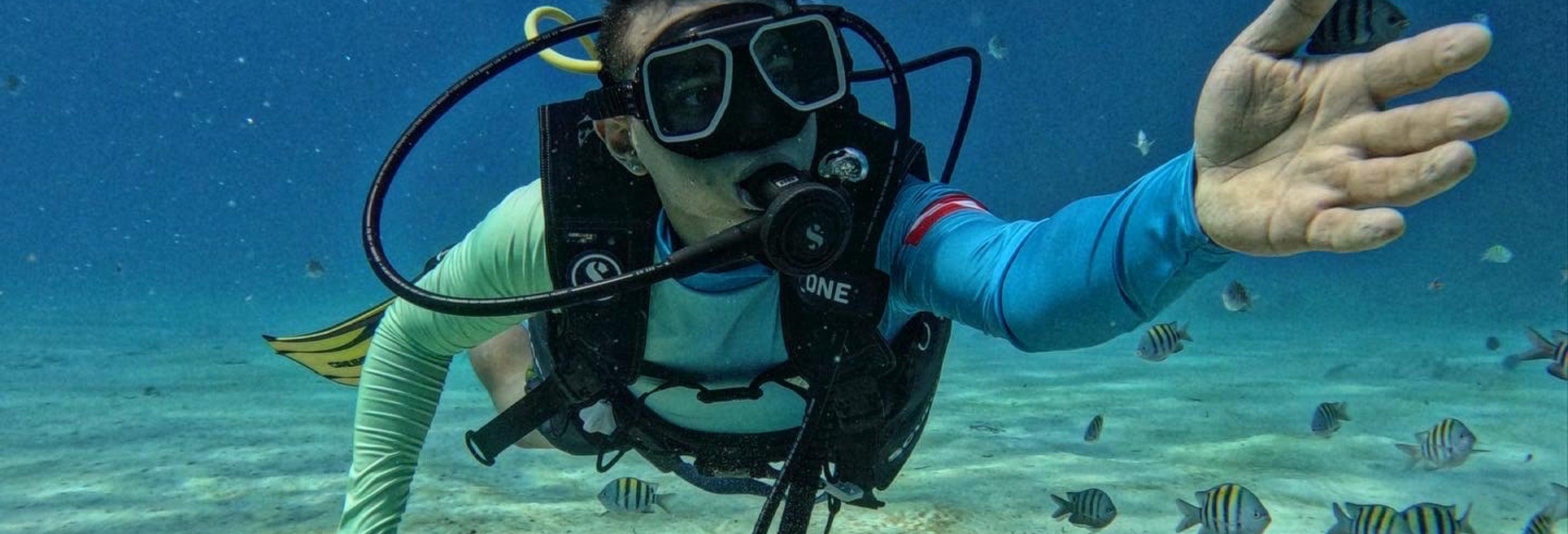 Beginners Scuba Diving in San Andrés