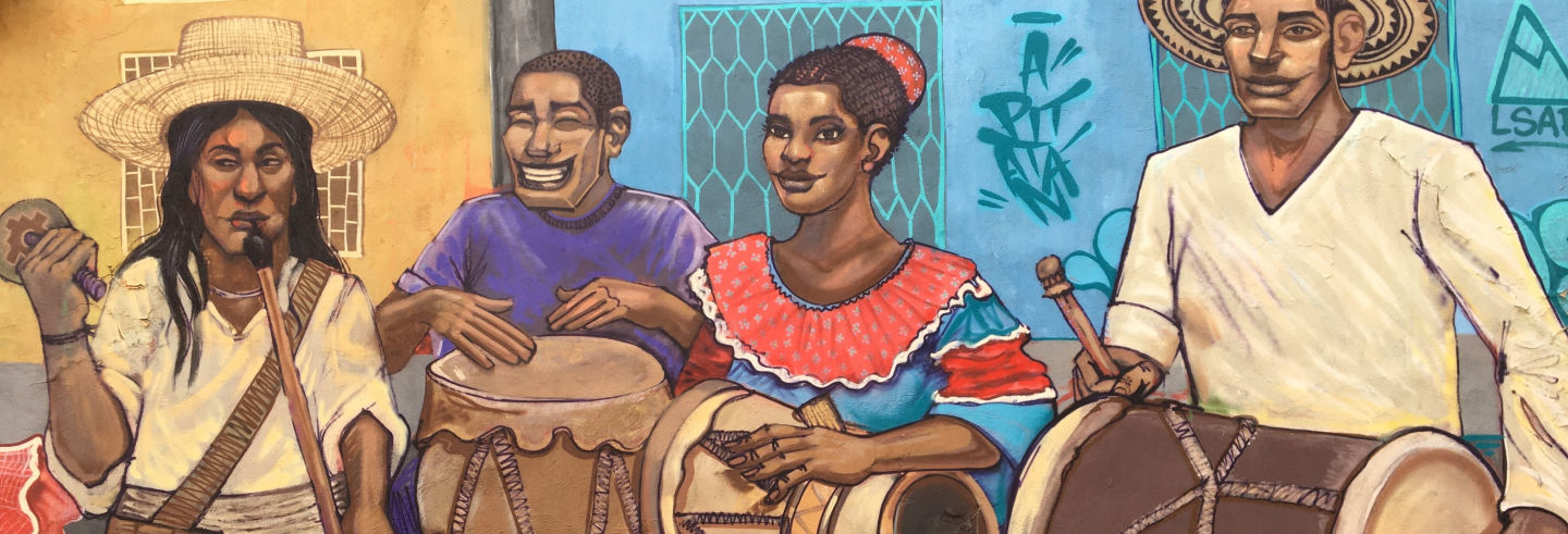 Tour del grafiti por Santa Marta