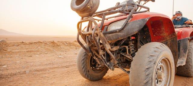 Tour en quad por el desierto de Villa de Leyva