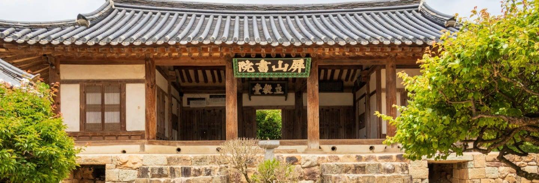 Tour por aldea Hahoe, acantilado Buyongdae y Byeongsan Seowon