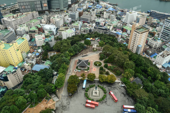 Views from Busan Tower
